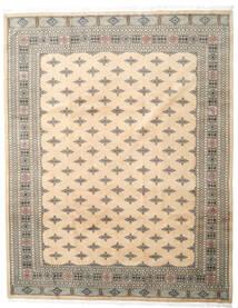 Pakistan Boukhara 3Ply Tapis 249X317 D'orient Fait Main Beige/Gris Clair (Laine, Pakistan)
