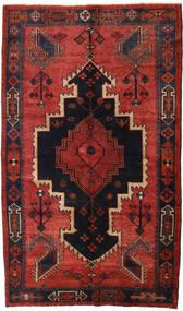 Lori Tapis 147X248 D'orient Fait Main Rouge Foncé/Noir/Rouille/Rouge (Laine, Perse/Iran)
