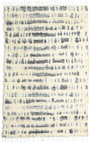 Barchi/Moroccan Berber - Indo Tapis 160X230 Moderne Fait Main Beige/Gris Clair (Laine, Inde)