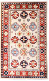 Kazak Tapis 93X152 D'orient Fait Main Beige/Rose Clair (Laine, Afghanistan)