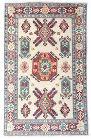 Kazak Tapis 99X157 D'orient Fait Main Beige/Violet (Laine, Afghanistan)
