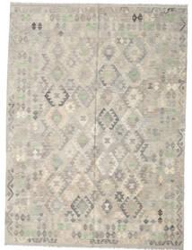Kilim Afghan Old Style Tapis 207X280 D'orient Tissé À La Main Gris Clair (Laine, Afghanistan)