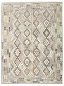 Kilim Afghan Old Style Tapis 261X349 D'orient Tissé À La Main Gris Clair/Beige Grand (Laine, Afghanistan)