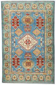 Kazak Tapis 119X188 D'orient Fait Main Beige Foncé/Vert Clair (Laine, Pakistan)