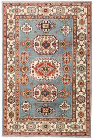 Kazak Tapis 122X185 D'orient Fait Main Marron/Beige (Laine, Afghanistan)