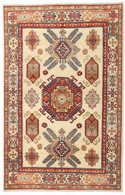 Kazak Tapis 119X186 D'orient Fait Main Beige/Marron Clair (Laine, Afghanistan)
