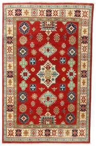 Kazak Tapis 118X187 D'orient Fait Main Rouille/Rouge/Marron (Laine, Afghanistan)