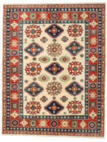 Kazak Tapis 158X203 D'orient Fait Main Rouille/Rouge/Bleu Foncé (Laine, Afghanistan)
