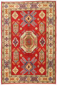 Kazak Tapis 120X180 D'orient Fait Main Rouille/Rouge/Beige Foncé (Laine, Afghanistan)