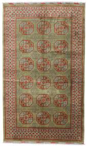 Afghan Tapis 196X330 D'orient Fait Main Gris Clair/Vert Olive (Laine, Afghanistan)
