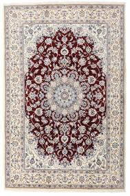 Naïn Tapis 198X305 D'orient Fait Main Gris Clair/Beige (Laine, Perse/Iran)