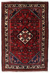 Turkaman Tapis 66X83 D'orient Fait Main Marron Foncé/Rouge Foncé (Laine, Perse/Iran)