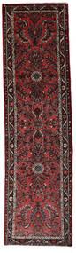 Hamadan Tapis 77X280 D'orient Fait Main Tapis Couloir Rouge Foncé/Marron Foncé (Laine, Perse/Iran)