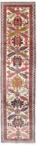 Ardabil Tapis 75X292 D'orient Fait Main Tapis Couloir Beige/Rouge Foncé (Laine, Perse/Iran)