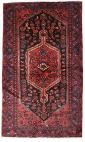 Hamadan Tapis 132X224 D'orient Fait Main Rouge Foncé/Marron Foncé (Laine, Perse/Iran)