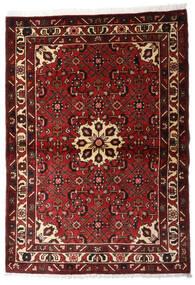 Hosseinabad Tapis 107X152 D'orient Fait Main Rouge Foncé (Laine, Perse/Iran)