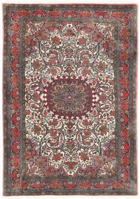 Bidjar Takab/Bukan Tapis 113X153 D'orient Fait Main Gris Foncé/Rouge Foncé (Laine, Perse/Iran)