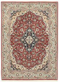 Ilam Sherkat Farsh Tapis 106X146 D'orient Fait Main Rouge Foncé/Gris Foncé (Laine, Perse/Iran)