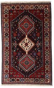 Yalameh Tapis 79X130 D'orient Fait Main Rouge Foncé (Laine, Perse/Iran)