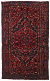 Hamadan Tapis 134X226 D'orient Fait Main Rouge Foncé (Laine, Perse/Iran)