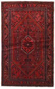 Hamadan Tapis 127X209 D'orient Fait Main Rouge Foncé/Marron Foncé (Laine, Perse/Iran)