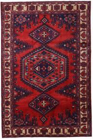 Wiss Tapis 210X320 D'orient Fait Main Rouge Foncé/Violet Foncé (Laine, Perse/Iran)