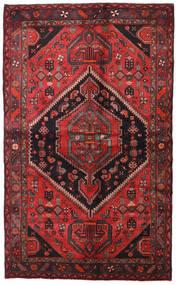 Hamadan Tapis 138X225 D'orient Fait Main Rouge Foncé/Noir (Laine, Perse/Iran)