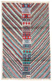 Moroccan Berber - Afghanistan Tapis 119X189 Moderne Fait Main Gris Clair/Vert Foncé (Laine, Afghanistan)