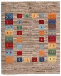 Loribaft Persan Tapis 158X193 Moderne Fait Main Marron Clair/Gris Clair (Laine, Perse/Iran)