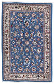 Kashmar Tapis 105X160 D'orient Fait Main Gris Clair/Bleu Foncé (Laine, Perse/Iran)