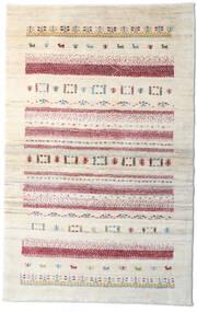 Loribaft Persan Tapis 95X150 Moderne Fait Main Beige/Gris Clair (Laine, Perse/Iran)