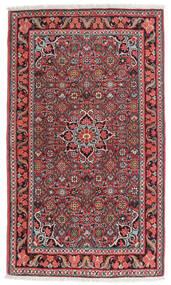Bidjar Tapis 84X134 D'orient Fait Main Marron Foncé/Rouge Foncé (Laine, Perse/Iran)
