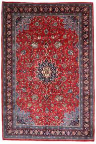 Mahal Tapis 220X330 D'orient Fait Main Violet Foncé/Rouge Foncé (Laine, Perse/Iran)