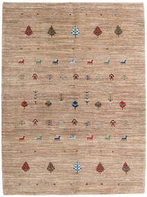 Loribaft Persan Tapis 158X212 Moderne Fait Main Marron Clair/Marron (Laine, Perse/Iran)
