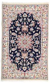 Kashmar Tapis 77X130 D'orient Fait Main Blanc/Crème/Gris Clair (Laine, Perse/Iran)