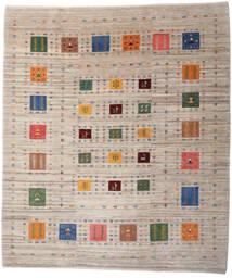 Loribaft Persan Tapis 209X242 Moderne Fait Main Gris Clair/Marron Clair (Laine, Perse/Iran)