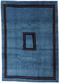 Loribaft Persan Tapis 205X295 Moderne Fait Main Bleu Foncé/Bleu (Laine, Perse/Iran)