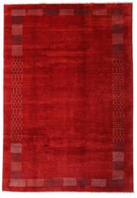 Loribaft Persan Tapis 202X294 Moderne Fait Main Rouille/Rouge/Rouge Foncé (Laine, Perse/Iran)