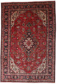 Tabriz Tapis 197X290 D'orient Fait Main Rouge Foncé/Rouge (Laine, Perse/Iran)
