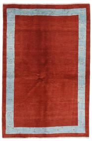 Loribaft Persan Tapis 143X216 Moderne Fait Main Rouille/Rouge/Bleu Clair (Laine, Perse/Iran)