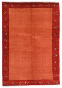 Loribaft Persan Tapis 139X202 Moderne Fait Main Rouille/Rouge/Rouge/Orange (Laine, Perse/Iran)
