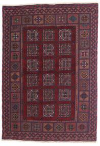 Kilim Golbarjasta Tapis 100X140 D'orient Tissé À La Main Violet Foncé/Rouge Foncé (Laine, Afghanistan)