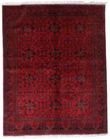 Afghan Khal Mohammadi Tapis 174X220 D'orient Fait Main Rouge Foncé/Rouge (Laine, Afghanistan)