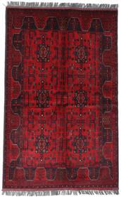 Afghan Khal Mohammadi Tapis 122X194 D'orient Fait Main Rouge Foncé/Rouge (Laine, Afghanistan)