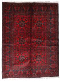 Afghan Khal Mohammadi Tapis 170X225 D'orient Fait Main Rouge Foncé/Noir (Laine, Afghanistan)