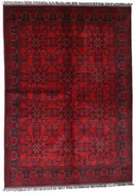 Afghan Khal Mohammadi Tapis 170X240 D'orient Fait Main Rouge Foncé/Rouge (Laine, Afghanistan)