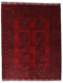 Afghan Tapis 158X199 D'orient Fait Main Rouge Foncé/Marron Foncé (Laine, Afghanistan)