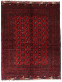 Afghan Tapis 154X195 D'orient Fait Main Rouge Foncé/Rouge (Laine, Afghanistan)