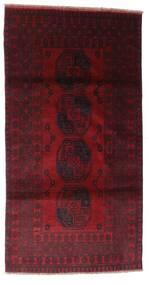 Afghan Tapis 103X196 D'orient Fait Main Rouge Foncé (Laine, Afghanistan)