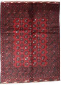 Afghan Tapis 81X121 D'orient Fait Main Rouge Foncé/Rouge (Laine, Afghanistan)